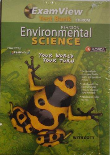 9780133170894: Pearson Environmental Science: ExamView Test Bank CD-ROM, Florida Edition