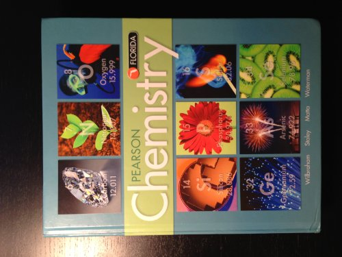 Pearson Chemistry (Florida Student Edition) (0133170934) by Dennis Staley; Michael Matta; Antony Wilbraham; Edward Waterman