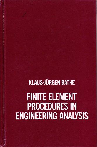 9780133173055: Finite Element Procedures in Engineering Analysis (Prentice-Hall civil engineering and engineering mechanics series)