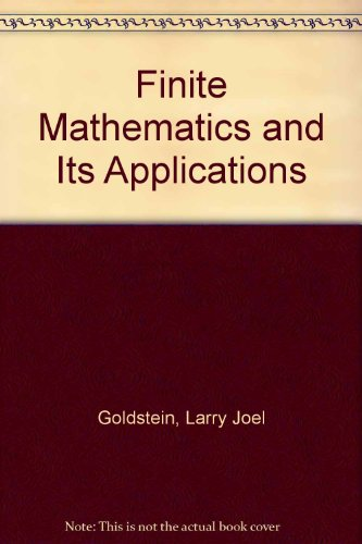 9780133173130: Finite Mathematics and Its Applications