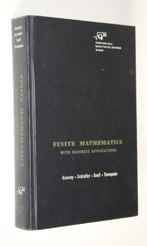 9780133173215: Finite Mathematics with Business Applications