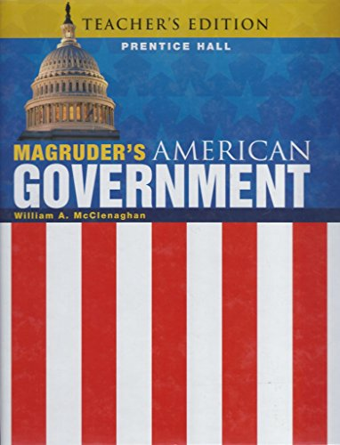 9780133173642: Magruder's American Government 2011 Teacher's Edition