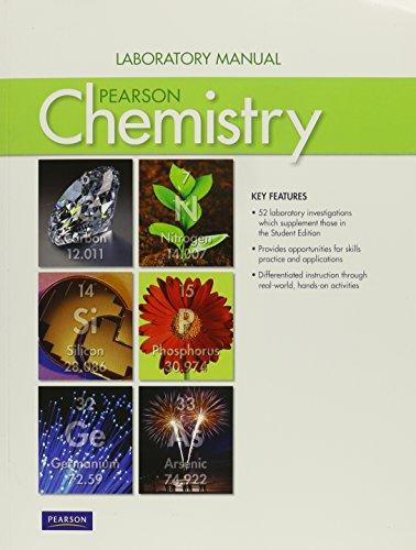 9780133173666: CHEMISTRY 2012 LAB STUDENT MANUAL GRADE 11