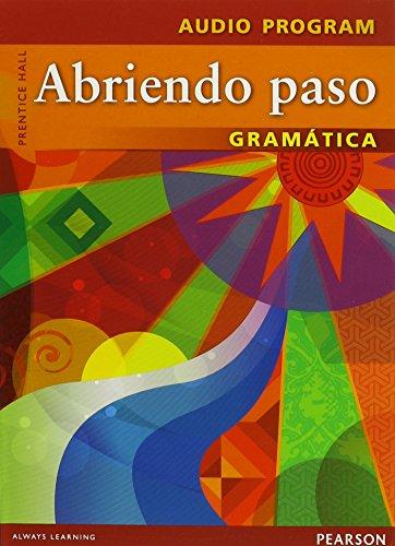 9780133175349: ABRIENDO PASO 2012 GRAMATICA TEACHERS AUDIO CD