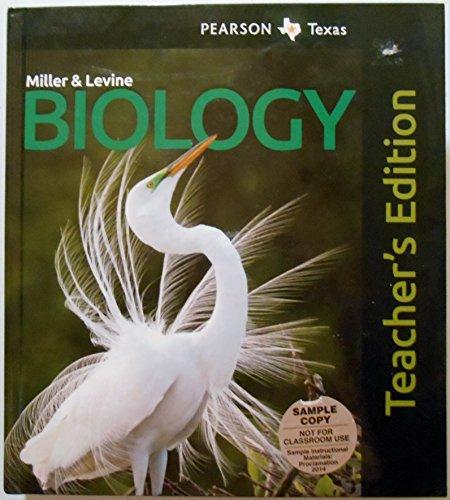 9780133176414: Miller & Levine Biology Pearson Texas Teacher's Edition
