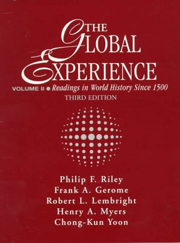 9780133177114: Global Experience: Readings in World History Since 1500, Volume II