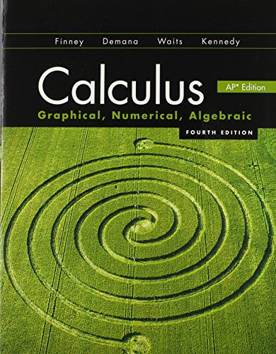 9780133178579: Calculus 2012 Student Edition (by Finney/Demana/Waits/Kennedy)