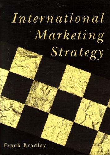 9780133178920: International Marketing Strategy