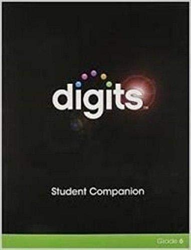 DIGITS STUDENT COMPANION GRADE 6: HALL, PRENTICE