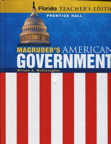 9780133183412: Florida Teacher's Edition, Magruder's American Government