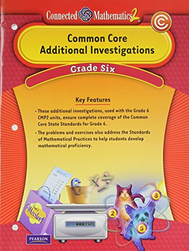 9780133183788: Connected Mathematics 2 Common Core Additional Investigations, Grade 6
