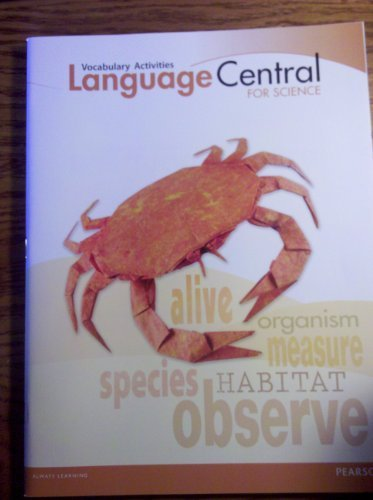 9780133184464: Language Central for Science, Vocabulary Activities, Grade 5