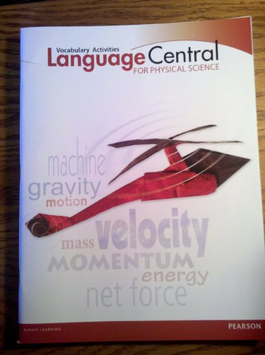 9780133184495: Language Central for Physical Science, Vocabulary Activities, Grades 6-8