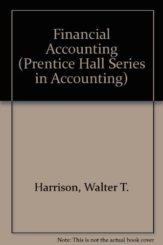 9780133185690: Financial Accounting (Prentice Hall Series in Accounting)