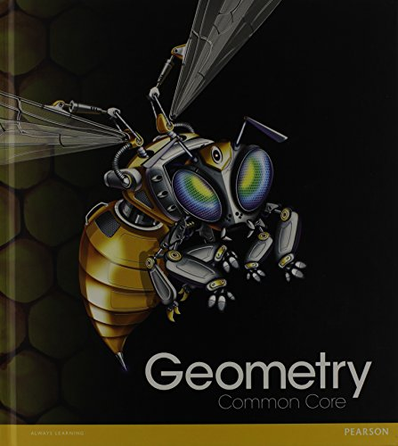 9780133185829: HIGH SCHOOL MATH COMMON-CORE GEOMETRY STUDENT EDITION GRADE 9/10
