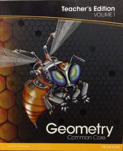 9780133185898: Geometry: Teacher's Edition V1