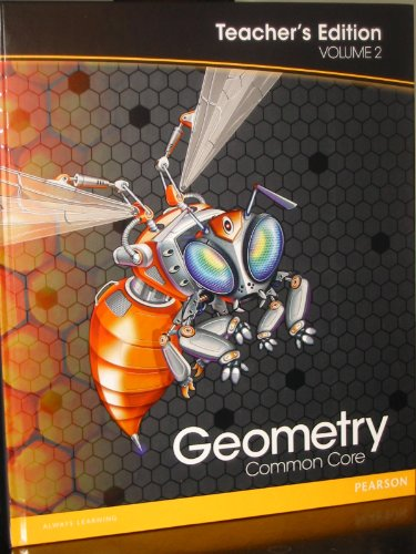 9780133185904: Pearson Geometry: Common Core, Vol. 2, Teacher's Edition