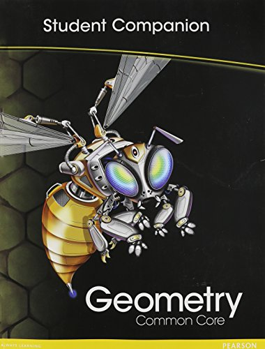 9780133185942: HIGH SCHOOL MATH COMMON-CORE GEOMETRY STUDENT COMPANION BOOK GRADE 9/10