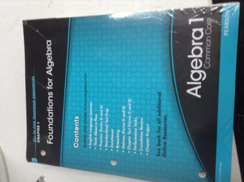 9780133188394: Foundations for algebra Algebra 1. 12 book set.