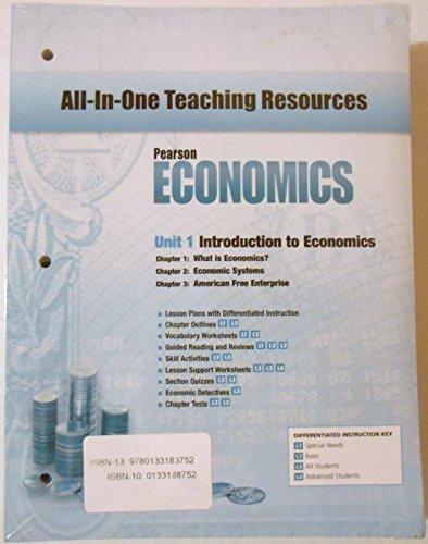 9780133188752: ECONOMICS 2013 ALL-IN-ONE GRADE 12