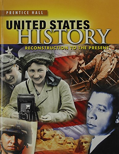 9780133189186: United States History: Reconstruction to the Present