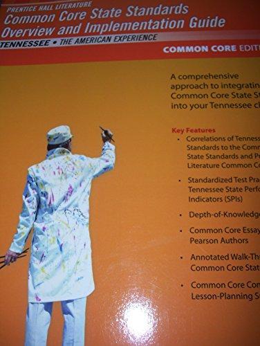 Prentice Hall Lit Common Core State Standards