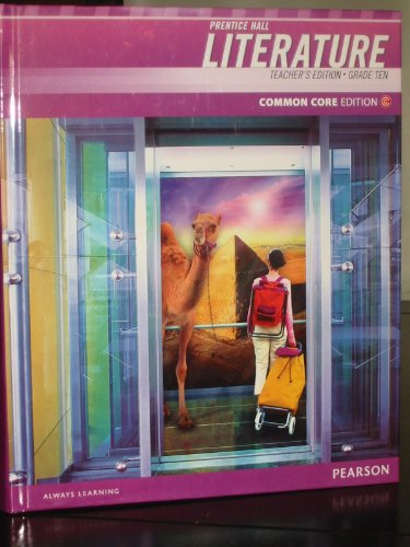 Prentice Hall Literature Teacher's Edition Grade 10 Common Core Edition: Pearson
