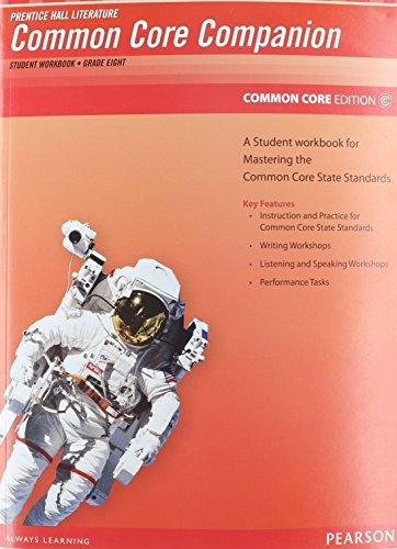 Prentice Hall Literature 2012 Common Core Student