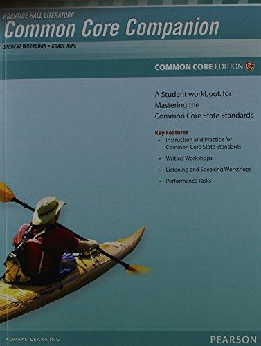 9780133190663: PRENTICE HALL LITERATURE 2012 COMMON CORE STUDENT WORKBOOK GRADE 9