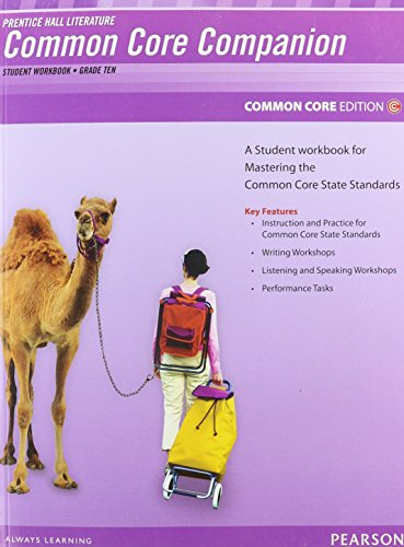 9780133190670: PRENTICE HALL LITERATURE 2012 COMMON CORE STUDENT WORKBOOK GRADE 10
