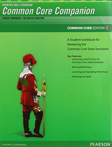9780133190694: PRENTICE HALL LITERATURE 2012 COMMON CORE STUDENT WORKBOOK GRADE 12