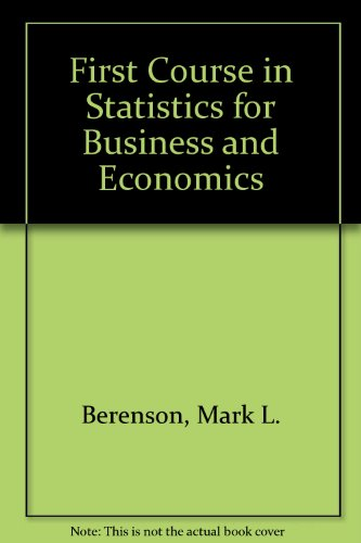 9780133191387: STATS for Business & Economics