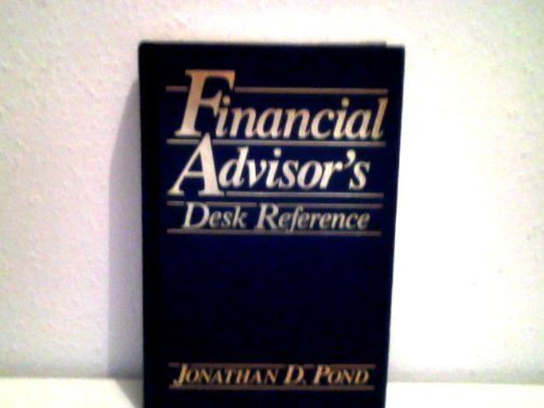 9780133192780: Financial Advisor's Desk Reference