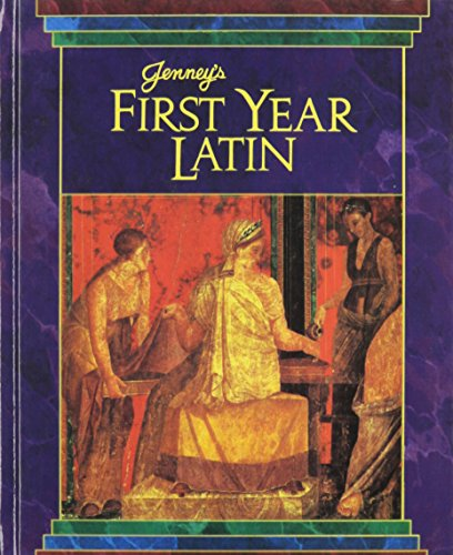 9780133193282: Jenney's First Year Latin Gr 8-12 Textbook 1990c