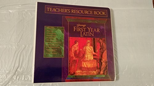 9780133193367: Teacher's resource book to accompany Jenney's first year Latin
