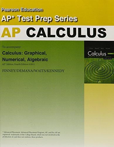 9780133196894: CALCULUS 2012 ADVANCED PLACEMENT (AP) TEST PREP WORKBOOK