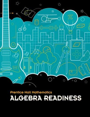 9780133197532: Middle Grades Math 2010 Homeschool Bundle Algebra Readiness