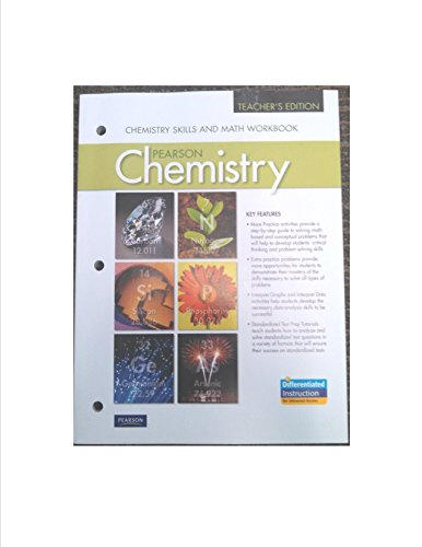 9780133198386: Chemistry Skills and Math Workbook, Teacher's Edition