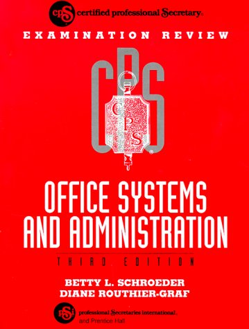 9780133200119: CPS Examination Review Office Systems and Administration