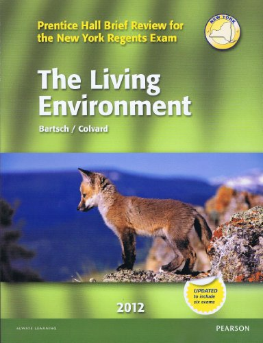 9780133200416: The Living Environment 2012 (Prentice Hall Brief Review for the New York Regents Exam)