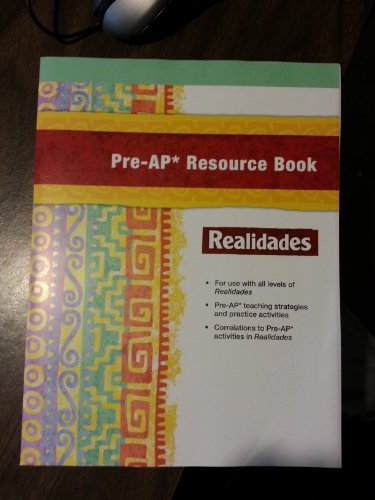 Realidades Pre-AP Resource Book Pearson 2014: XXX