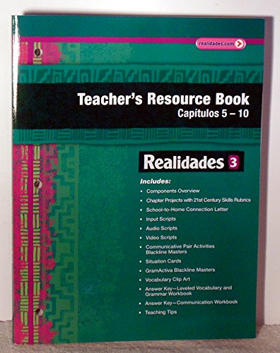 Realidades 3 Teacher's Resource Book Volume 2: Pearson