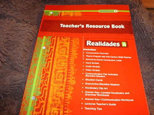 9780133203721: Prentice Hall Realidades A: Teacher's Resource Book Para Empezar-Tema 4