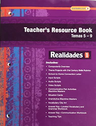 Realidades 1 Teacher's Resource Book Temas 5-9: Pearson