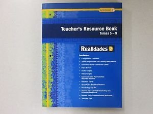 Realidades 2 Teacher's Resource Book Temas 5-9: Pearson