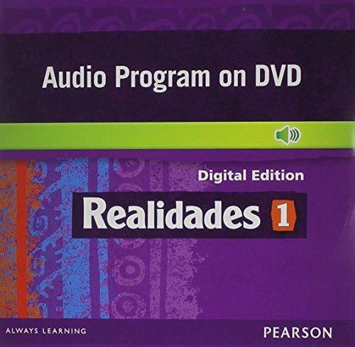 REALIDADES 2014 AUDIO PROGRAM ON DVD-ROM LEVEL 1: PRENTICE HALL