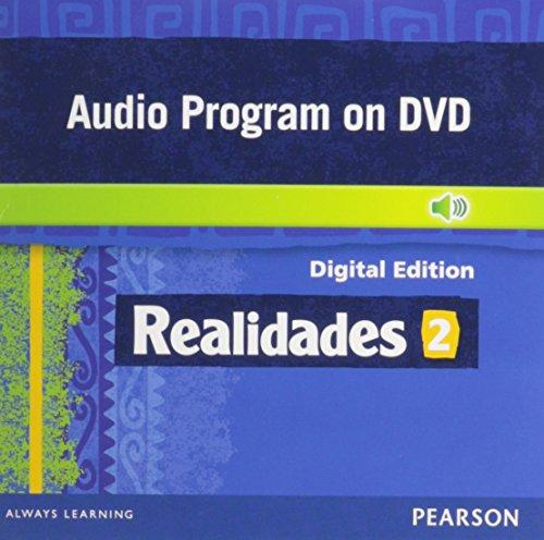 9780133203820: REALIDADES 2014 AUDIO PROGRAM ON DVD-ROM LEVEL 2