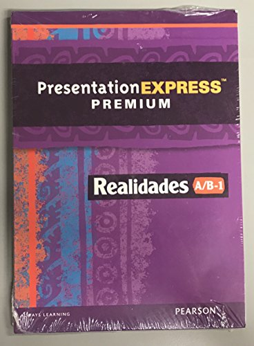 9780133204049: REALIDADES 2014 PRESENTATION EXPRESS DVD-ROM LEVEL A/B/1