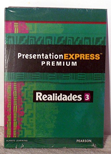 REALIDADES 2014 PRESENTATION EXPRESS DVD-ROM LEVEL 3: PRENTICE HALL