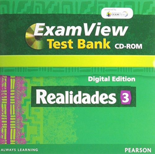 9780133204100: REALIDADES 2014 EXAMVIEW COMPUTER TEST BANK WITH CD-ROM LEVEL 3